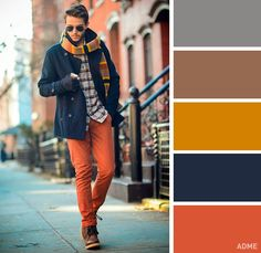 18 ideal colour combinations for men