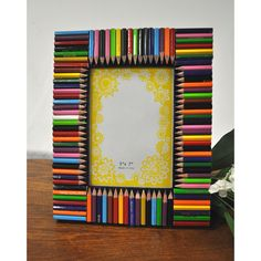 Colorful Pencil 5x7 Picture Frame | Overstock™ Shopping - Great Deals on KINDWER Photo Frames & Albums
