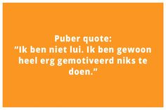 Puber Quote