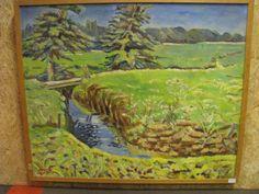 .Jan Hendrik Emck. olieverf/doek. Drentse Aa. 65 x 80 cm. Dit schilderij wordt geveild door Methusalem Schoonoord bij van der Valk Assen op woensdagavond 13 november 2013.