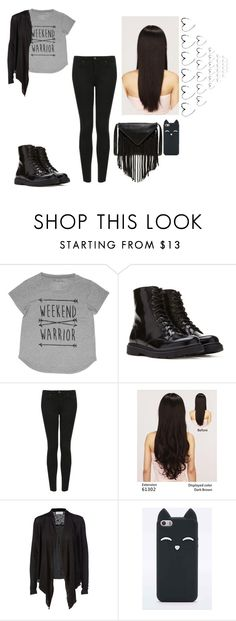 """""""Untitled #210"""" by hannahmcpherson12 ❤ liked on Polyvore featuring Forever 21, Topshop, LeSalon, Rosemunde and J.J. Winters"""