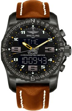 VB5010A4/BD41/443X Breitling Cockpit B50 Men's Watch - Best Online Deal - 6 Year Warranty - Free Overnight Shipping - Authenticity Guaranteed