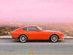 1972 Datsun 240Z. I learned how to drive in one of these.   SUPER FUN!!!!!