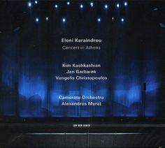 Eleni Karaindrou 2013 Concert in Athens 雅典音樂會 (ECM 2022) #albumcover