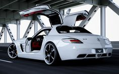 "Mercedes SLS ""Silver Wing"" by wheelsandmore"
