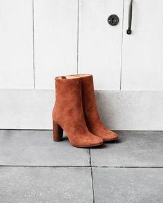 H&M autumn/winter collection #H&M #autumn #winter #shoes #beige #boho