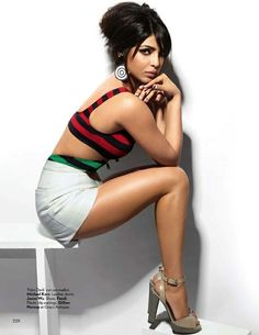 [HQ] - [UPDATED] -Priyanka Chopra Scans from Vogue Magazine - March 2013.
