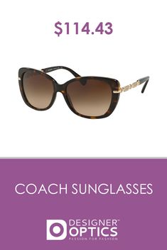 28a3cda9f95e $114.43 Coach brings in the bold and the butterfly-shaped sunglasses. This  pair especially