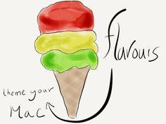 LINK – Flavours - Tasteful Themes for Mac →  via @Patrick Welker