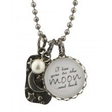To the Moon and Back Pendant Necklace