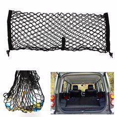 Trunk Car Auto SUV Rear Cargo Luggage Organizer Storage Mesh Net Nylon
