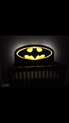 Batman baby bed