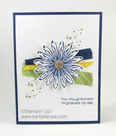 Stampin Up - Daisy Delight Flower Cards, Paper Flowers, Daisy Delight Stampin' Up, Washi Tape Cards, Card Maker, Daisies, Stampin Up Cards, Scrapbook Paper, Cardmaking