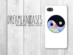 Yin Yang iPhone Case white iphone case hipster by DreamlandCases, $13.00