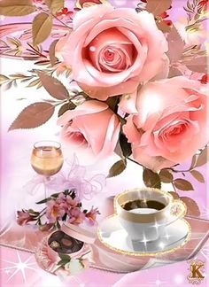 Good Morning Gift, Good Morning Coffee Gif, Good Morning Snoopy, Good Morning Beautiful Flowers, Good Morning Roses, Good Morning World, Beautiful Rose Flowers, Beautiful Gif, Good Morning Images