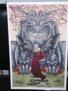 Fairy Art Artist Amy Brown: The Official Online Gallery. Fantasy Art, Faery Art, Dragons, and Magical Things Await. Amy Brown Fairies, Dark Fairies, Troll, Ange Demon, Fairy Pictures, Gothic Fairy, Beautiful Fairies, Beautiful Things, Love Fairy