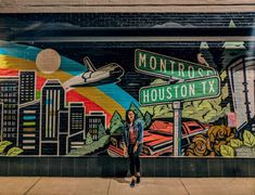 Montrose Houston Houston Murals, Houston Tx, Montrose Houston, Wall Murals, Wall Art, Driving Directions, Graffiti, Art Photography, Latina