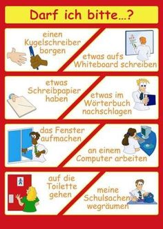 Darf ich bitte? Deutsch. If you're looking for  a German tutor, visit http://www.tutorz.com/find/german