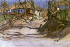"""Włodzimierz Tetmajer, """"Wiosna"""", ok. 1909, olej na płótnie, 68 x 98,5 cm"""