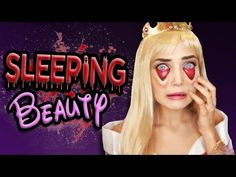Tired Sleeping Beauty Halloween Makeup Tutorial | Disney Princess Halloween Tutorial, Halloween Diy, Halloween Costumes, Sleeping Beauty Halloween, Amazing Halloween Makeup, Learn Makeup, Getting Things Done, Dyed Hair, Wigs