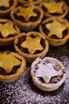 These fruity and spicy mince pies are perfect for a holiday dessert.