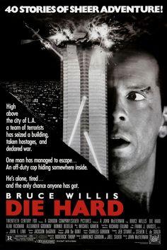 Die Hard | Starring: Bruce Willis, Alan Rickman | Alternative Christmas Movies #ChristmasMovies