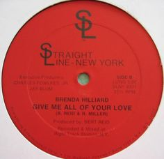 Funk-Disco-Soul-Groove-Rap: BRENDA HILLIARD - give me all your love