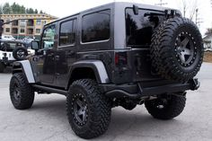 2014 Jeep Rubicon Unlimited Granite
