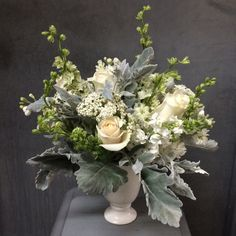 Gardenia Organic - New York, NY, United States. Winter white bouquet by Gardenia Organic (mid sized arrangement, $125 plus delivery & tax)