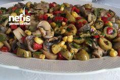 Leziz Mantar Salatası