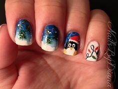 NailsByDiana Christmas #nail #nails #nailart