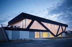 Nathalie Mauclair Gymnasium by SCHEMAA  Photograph by David Foessel