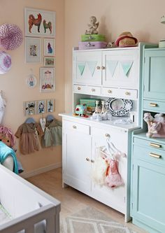 Sweet Dreams My Love, Country Chic, Gallery Wall, Furnitures, Home Decor, Girls, Ideas, Cupboard Shelves, Toddler Girls