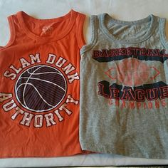 Toddler boys sleeveless tops! Like new! Both tops are from The Children's Place. Both size 4T. The Children's Place Tops Tank Tops
