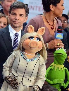 Miss Piggy and Kermit#gcucine #design #muppets  Visite o nosso site! www.gcucine.com.br