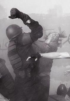 Police Brutality by kristie