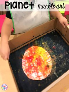 Space theme activities and centers (literacy math fine motor stem blocks sensory and more) for preschool pre-k and kindergarten Space Crafts Preschool, Planets Preschool, Planets Activities, Daycare Crafts, Stem Activities, Space Activities For Kids, Kindergarten Activities, Outer Space Crafts For Kids, Space Theme For Toddlers