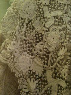 Irish Crochet Lace ~~ Rosemary Cathcart Antique Lace and Vintage Fashion: July 2011