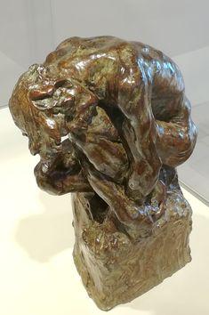 The Leaning Man   L'Homme penché (vers 1886) par Camille CLAUDEL (1864-1943)   Bronze, Fonte par Delval après 1984   Musée Camille Claudel à Nogent-sur-Seine   Photo Hervé Leyrit.