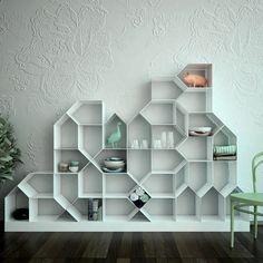citybook modern modular bookshelf