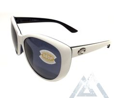 9b499eda7c6 Costa Del Mar La Mar Sunglasses - White Topaz - POLARIZED Gray 580P