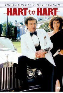 """Hart to Hart (1979–1984) """"the globe-trotting adventures of amateur detectives Jonathan and Jennifer Hart."""" Starring Robert Wagner and Stephanie Powers"""