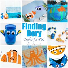 Finding dory lesson plans for teachers or parents disney for Finding dory crafts for preschoolers