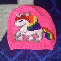 NL crafts: unicorn hat Unicorn Hat, Angel Ornaments, Purple, Hats, Red, Color, Hat, Colour, Viola