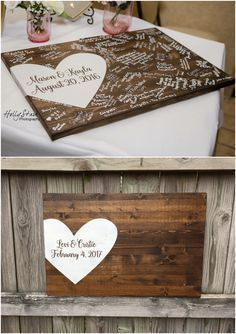 Alternative wedding guest book, wood guest book, wedding decor, guest book Related posts:rustic country bucket wedding ideas Rustic Budget-Friendly Rustic Wedding Signs Ideas - wedding signs with wood pallets Wood Guest Book, Guest Book Sign, Guest Books, Guest Book Tree, Wedding Book, Wedding Day, Dream Wedding, Trendy Wedding, Wedding Rustic