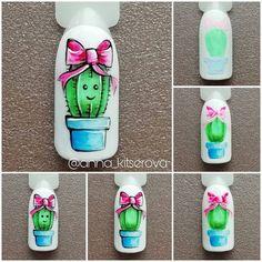 Pretty Nail Art, Cool Nail Art, Uv Gel Nails, 3d Nails, Cute Acrylic Nails, Cute Nails, Spring Nails, Summer Nails, Nail Art Fleur