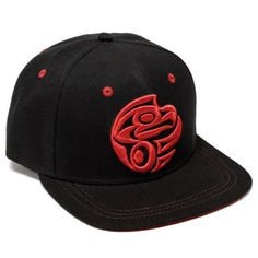 Thunderbird Snapback Hat by Maynard Johnny Jr., Salish, Kwakwaka'wakw