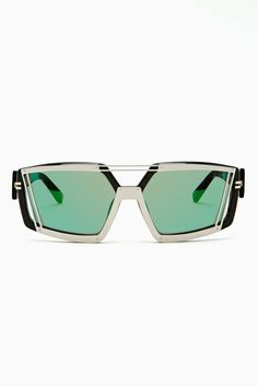 Linda Farrow X Prabal Gurung Metropolis Glasses
