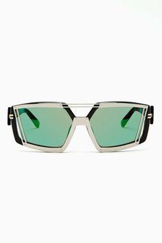 Linda Farrow X Prabal Gurung Metropolis Glasses #sunglasses #gafasdesol