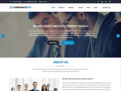 CorporatePro is a modern and vivid Business Free HTML Template. This is a clean and modern template that you can use corporate, agency, audit, broker, business, company, consulting, corporate, creative, portfolio, financial, responsive, startup and any kinds of corporate. It has a lot of features and responsive pages.